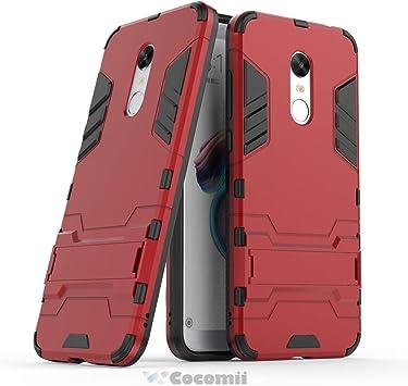 Cocomii Iron Man Armor Xiaomi Redmi Note 5/Redmi 5 Plus Funda Nuevo [Robusto] Táctico Sujeción Soporte Antichoque Caja [Militar Defensor] Case Carcasa for Xiaomi Redmi Note 5/Redmi 5 Plus (I.Red): Amazon.es: Electrónica
