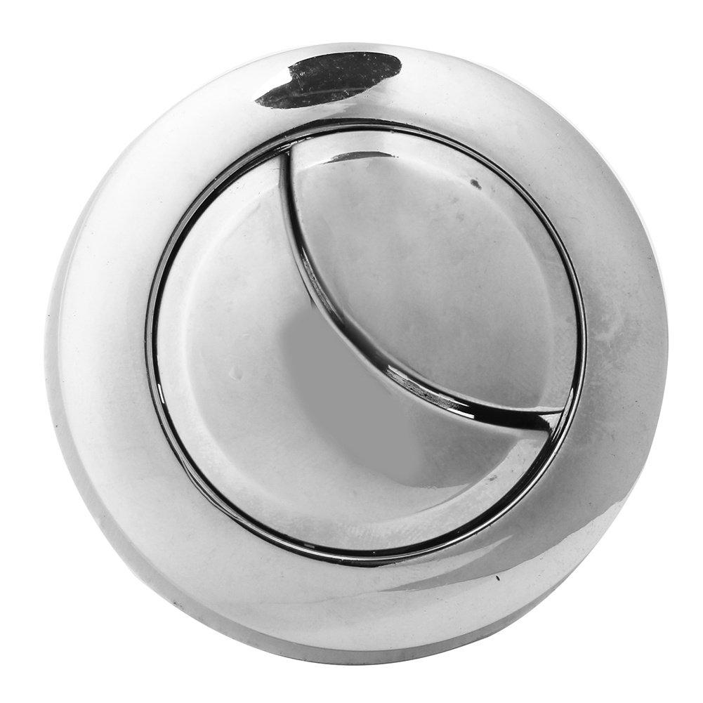 Lecimo 2* WC Botó N De Doble Descarga De Agua De Ahorro De Cromo