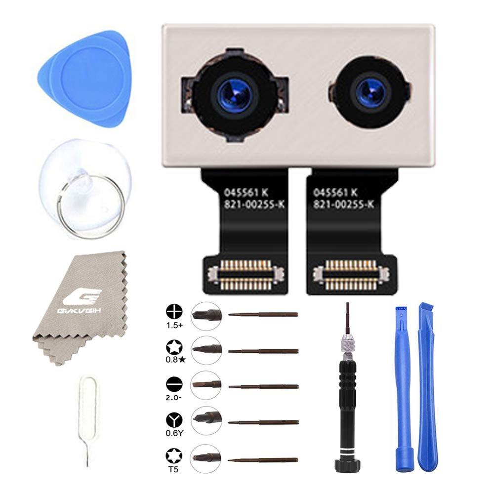 Back Rear Camera Replacement for iPhone 7Plus, GVKVGIH OEM 12MP Back Camera Module for iPhone 7P with Repair Tools