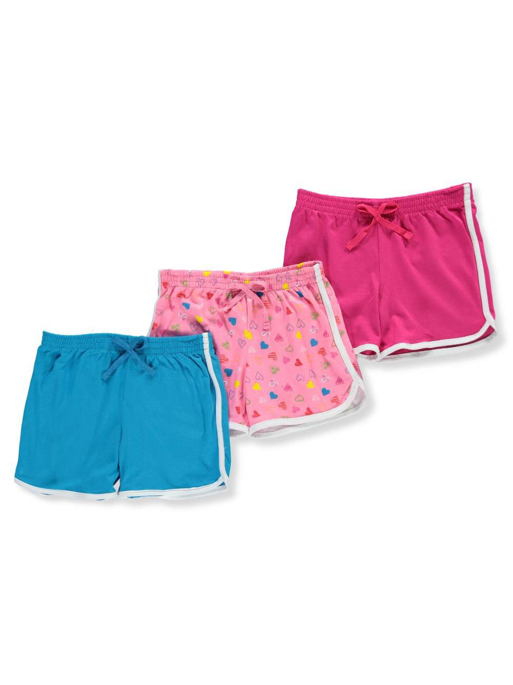 Pink Dot Girls' 3-Pack Shorts 2t
