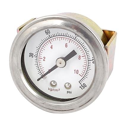 0-150 PSI 0-10kg / cm2 Compresor de aire hidráulico 1/8