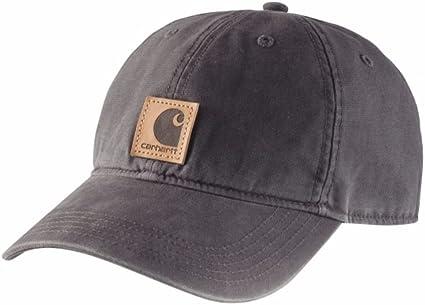 Carhartt Gorra Odessa - Negro sombrero gorra de beisbol logotipo ...