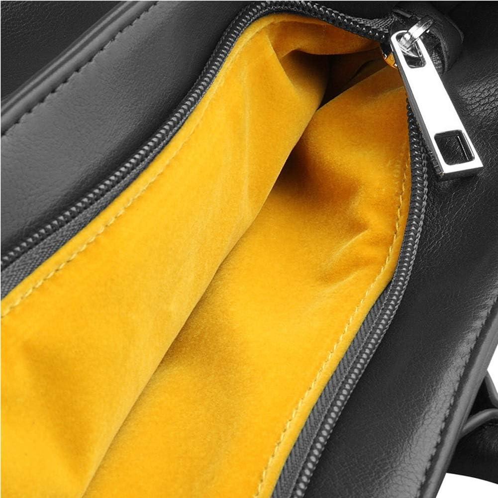 Color : Black GUODLIN Laptop Bag 13 Inch Briefcase Business Bag Carrying Handbag Laptop Sleeve Black