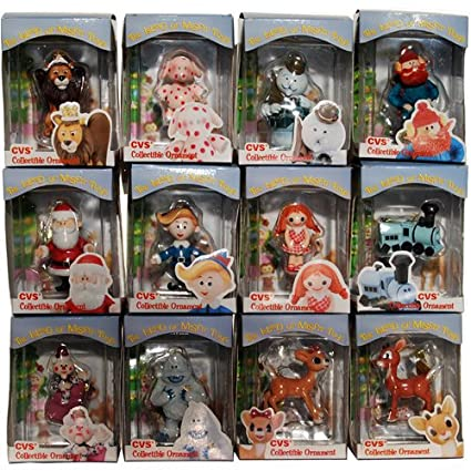 rudolph island of misfit toys complete 1999 ornament set of 12 cvs enesco nfrb