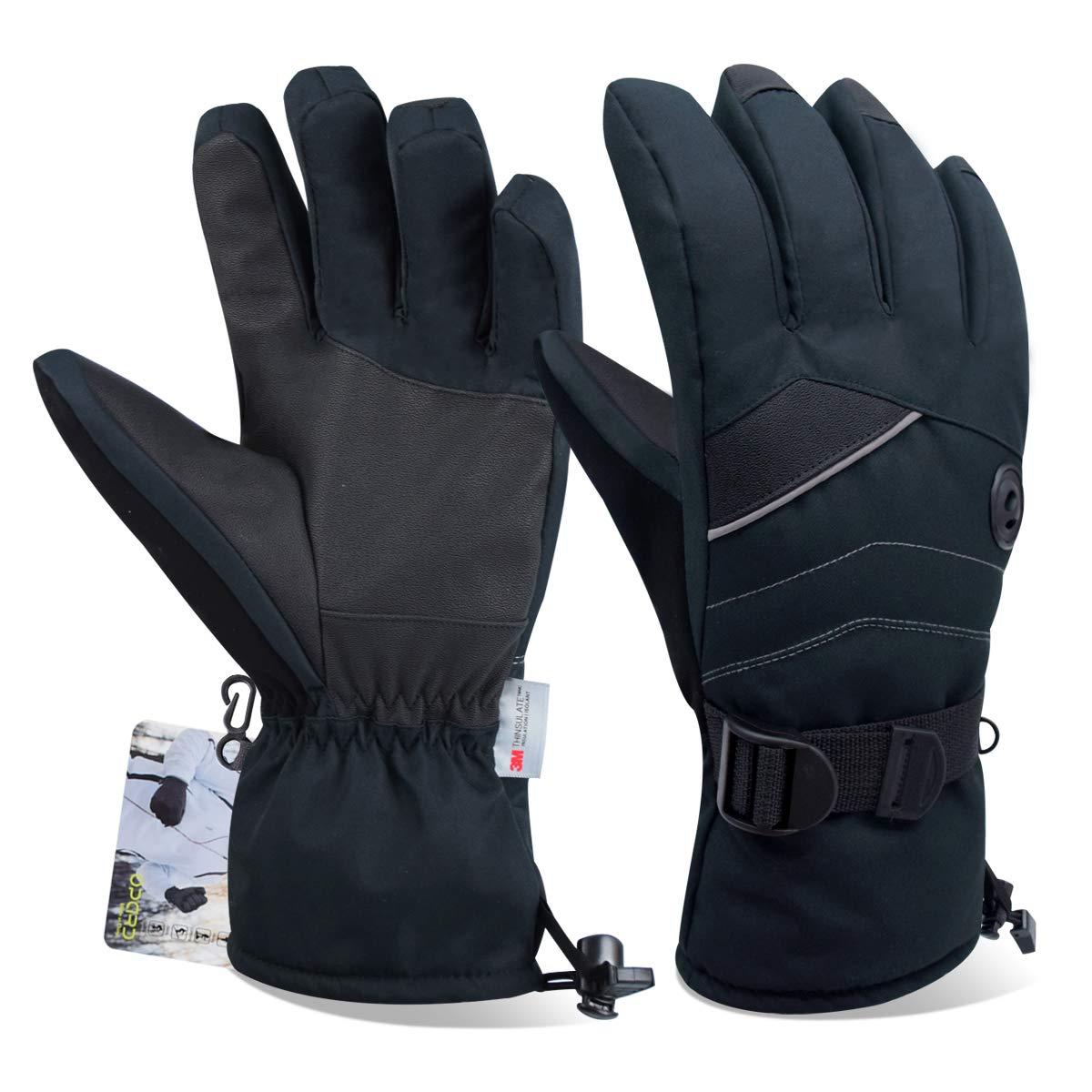 normani® Winter Fingerhandschuhe mit rutschfestem Griff in verschiedenen Größen Camping & Outdoor