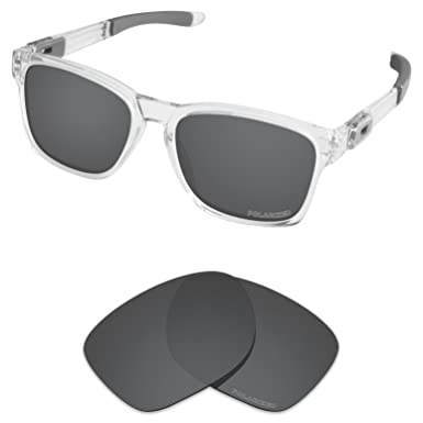 90d1fcb5dd Tintart Performance Lenses Compatible with Oakley Catalyst Polarized  Etched-Carbon Black