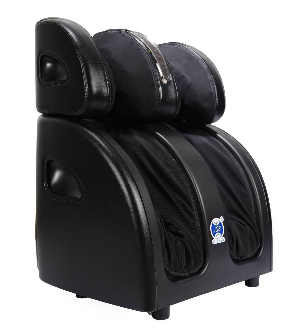 JSB HF60 Shiatsu Leg Foot Massager Machine for Calf Pain Relief with Heat