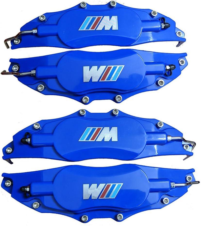 Amazon Com Leadchange 4x Customized Blue Color Caliper Cover M Label For Bmw Cars Class 3 5 X3 X5 M M3 M5 Brake Styling Decoration Kit Multi Color 4pcs Lot Automotive