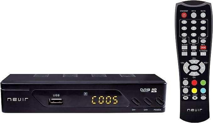 Nevir NVR2593DUGHD - Sintonizador digital de alta definición ...