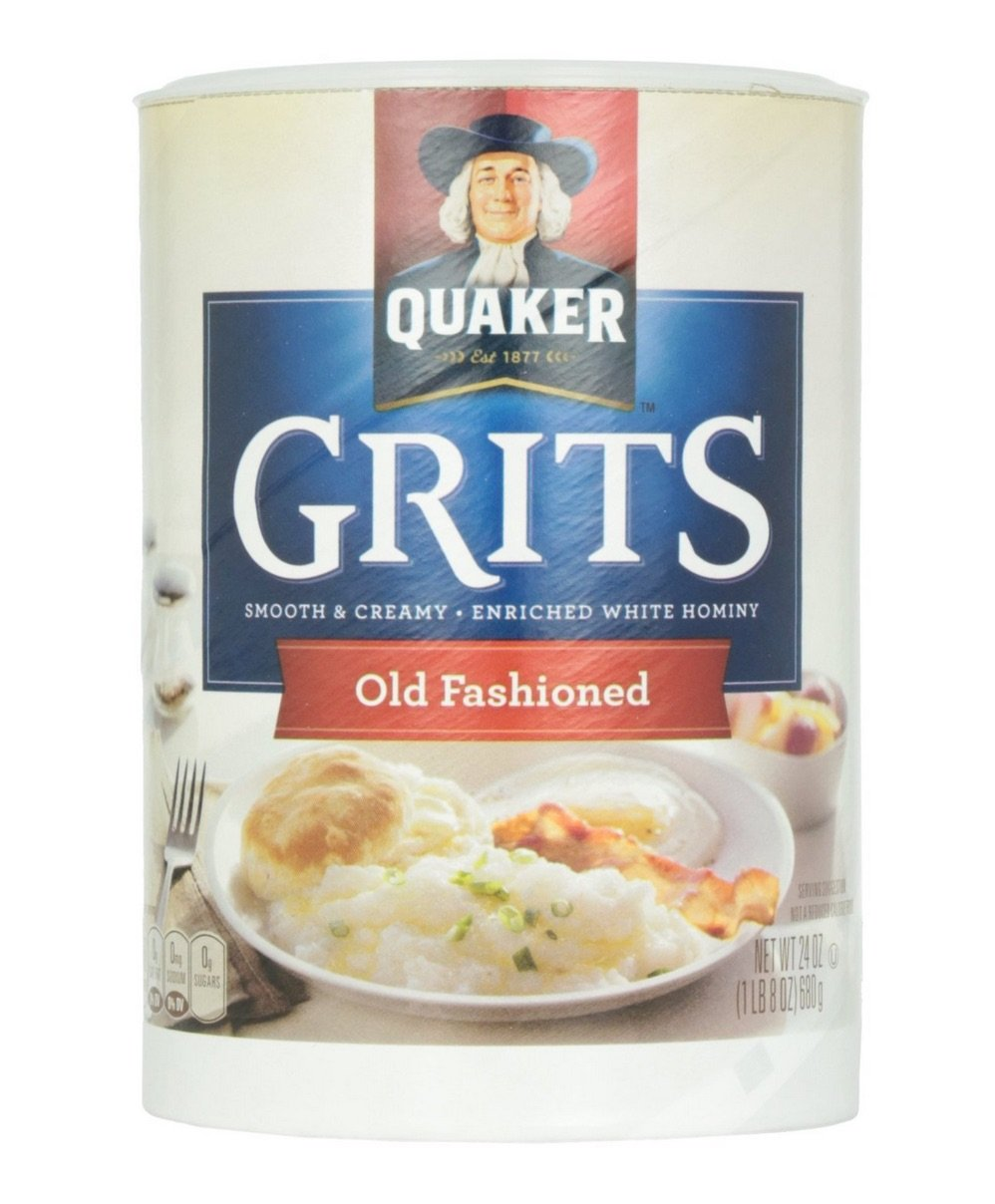 Quaker Old Fashioned Smooth & Creamy Grits Pack of 3, 24 oz Containers