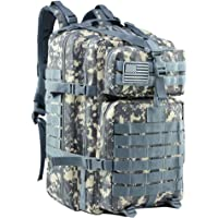 MEWAY 42L Military Tactical Backpack Large Assault Pack 3 Day Army Rucksacks Molle Bag Outdoors Hiking Daypack Hunting Backpacks