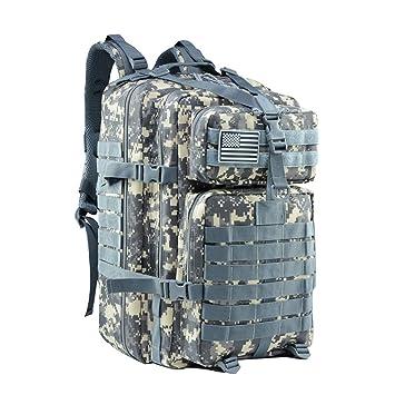 Amazon.com: Mochila táctica militar grande de 42 l de Meway ...