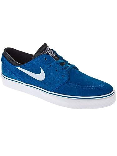 27efc859ec34c ... Amazon.es  Zapatos y complementos nike sb azul. Skate Nike SB CHECK CNVS  Azul Oscuro