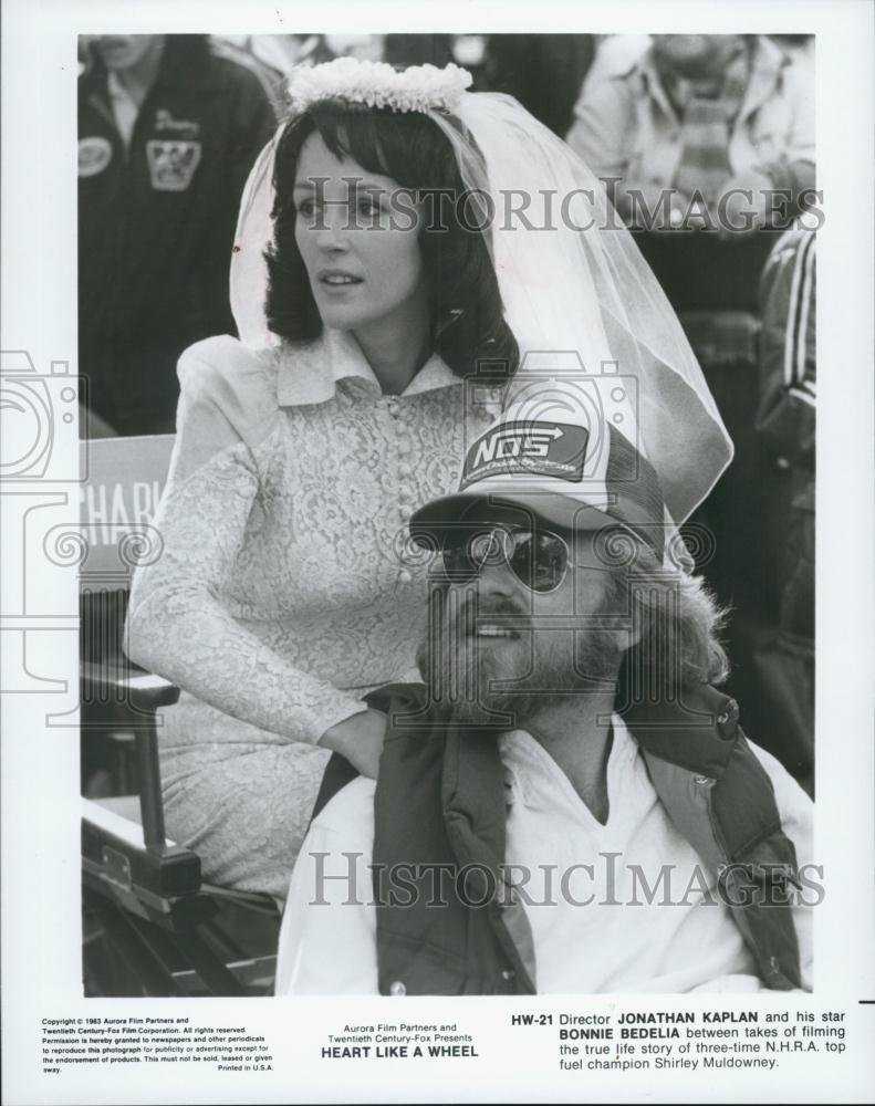 Amazon.com: Vintage Photos 1983 Press Photo Jonathan Caplan Directs Bonnie Bedelia in Heart Like a Wheel: Photographs