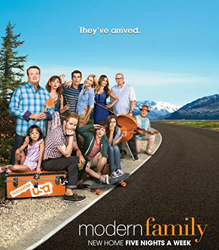 Amazon.com: Modern Family Season 5 (24x27 inch, 60x69 cm) Silk ...
