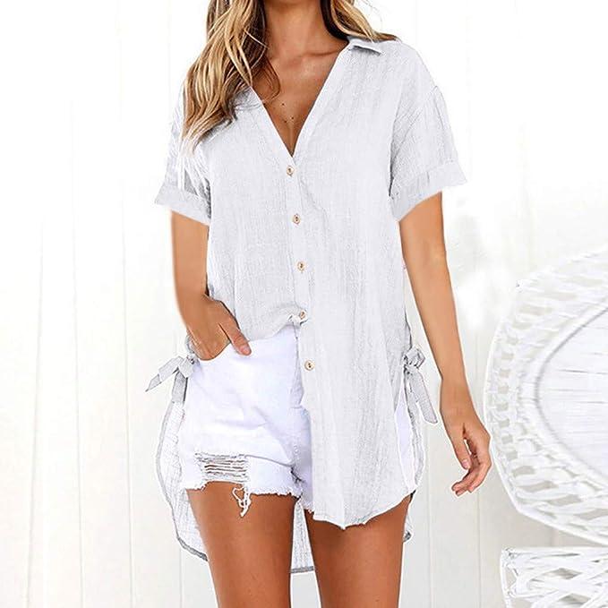 Amazon.com: Simayixx - Camisa de manga larga para mujer ...