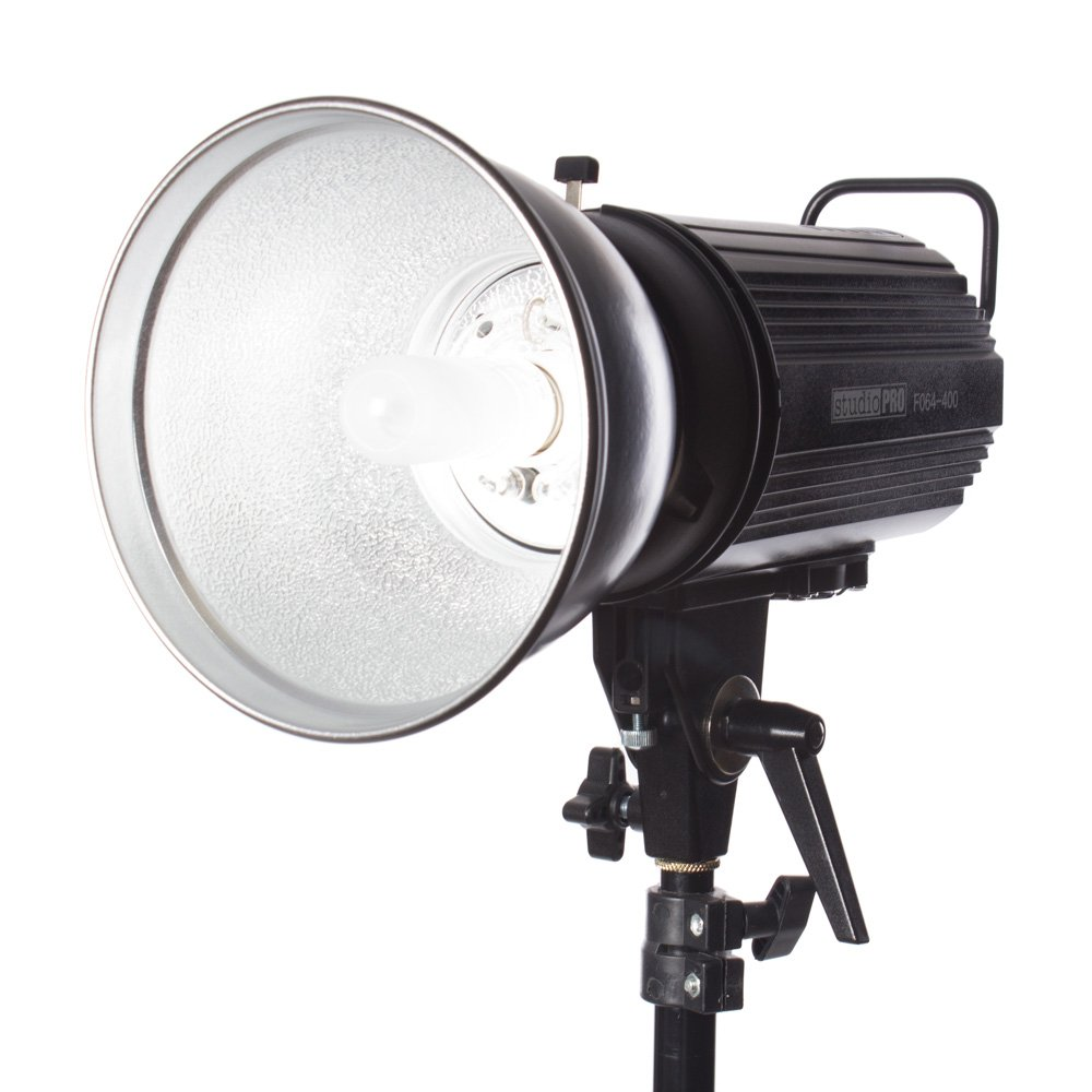 Fovitec StudioPRO SDX-400 Photography Studio Monolight, Professional Studio Strobe Flash Lighting Head 400 Watts/s