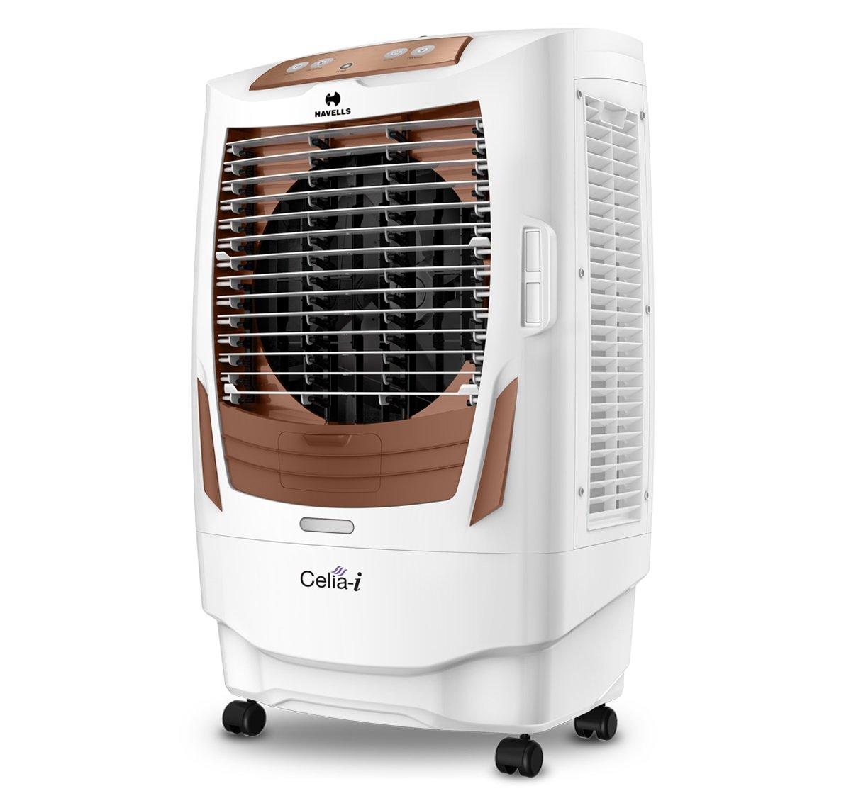 Havells Celia I Desert Air Cooler - 55 litres (White, Brown