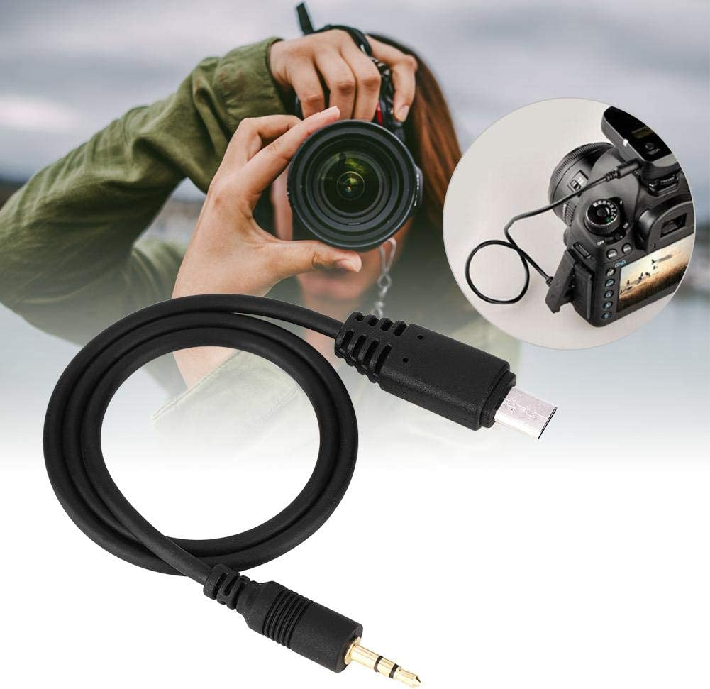 Serounder Camera Shutter Line,Mirrorless Camera Shutter Release Cord with 2.5mm Joint,Durable,Non-Shrinkage,for Sony a7RIII//a9//a7,for Fujifilm S5 PRO//S3 PRO,for Kodak DCS-14N