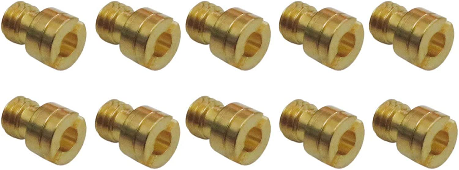 4mm 10X Round Head Main Jets Fit For GY6 50cc 139QMB Scooter Keihin Carb PZ19 70-92