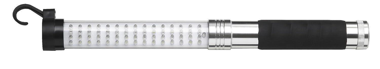 Bachmann 394.191 Profi-LED Akku Handleuchte, 60+17 LEDs mit 2x Schalter 2082416