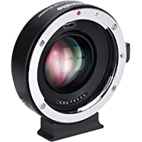 Commlite cm-EF-EOSM Booster Canon EF to EOS M Camera 0.71x Speed Booster Auto Focus Focal Reducer Adapter for Canon EOS M1 M2 M3 M5 M6 M10 M50 M100