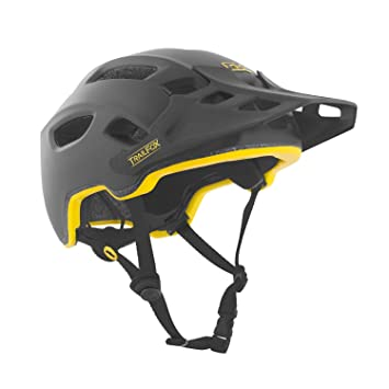 TSG Enduro – Casco para bicicleta de montaña Trail Fox Mips Solid Color – Satén Negro