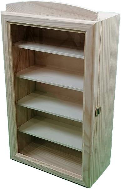 Vitrina madera. Fondo 15 cms. Medidas (ancho/fondo/alto): 30 ...