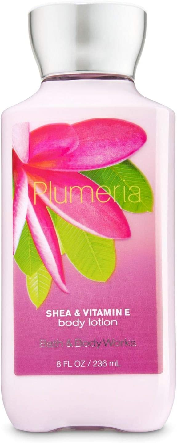 Bath and Body Works Signature Plumeria Body Lotion 8 Ounce