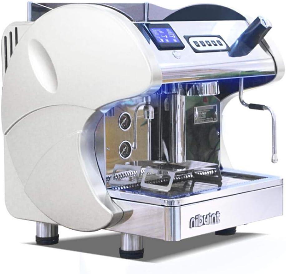 Máquina De Café Kuandar Comercial Profesional Semiautomática Italiana Solo Bomba De Bomba Principal Vapor Una Máquina: Amazon.es: Hogar