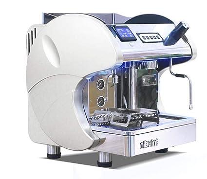 Máquina De Café Kuandar Comercial Profesional Semiautomática Italiana Solo Bomba De Bomba Principal Vapor Una Máquina