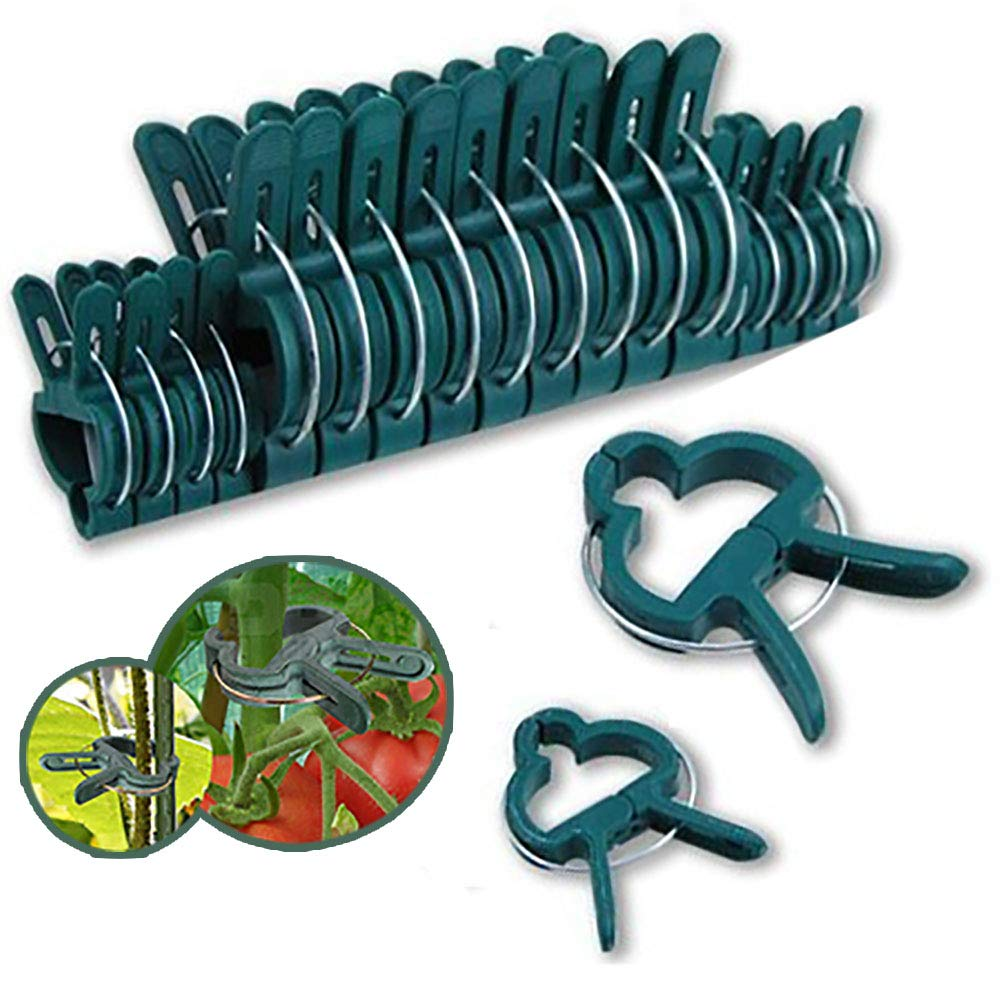ZCINT Garden Plant Clips,Gripper Tool for Straightening Plant Stems, Stalks, and Vines 20 Pack