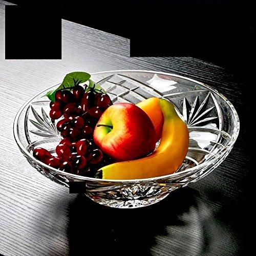 Elegant Crystal Sparkling Design, Serving Centerpiece For Home,Office,Wedding Decor, Fruit, Snack, Dessert, Server by Le'raze (Image #2)