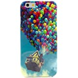 iPhone 6 Case, MOKOU B Style Hybrid Fancy Colorful Pattern Hard Back Case Cover Fit for iphone6 4.7Inch