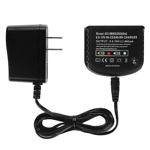 Ni-MH/Ni-CD cargador de batería para Black Decker 1,2 V-18 V ...