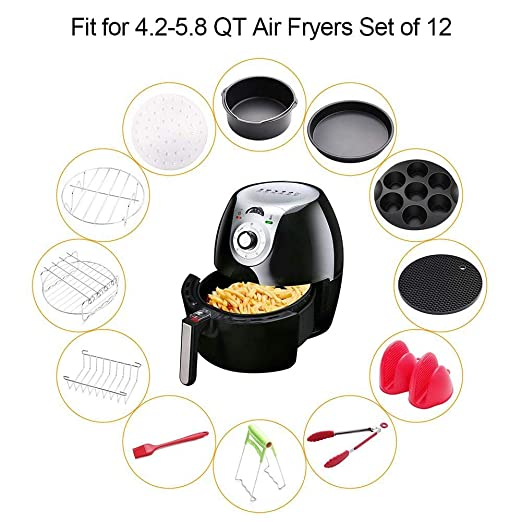 Freidora de aire multifuncional, utensilios de cocina con ...