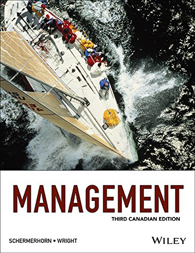 Management, 3rd Canadian Edition