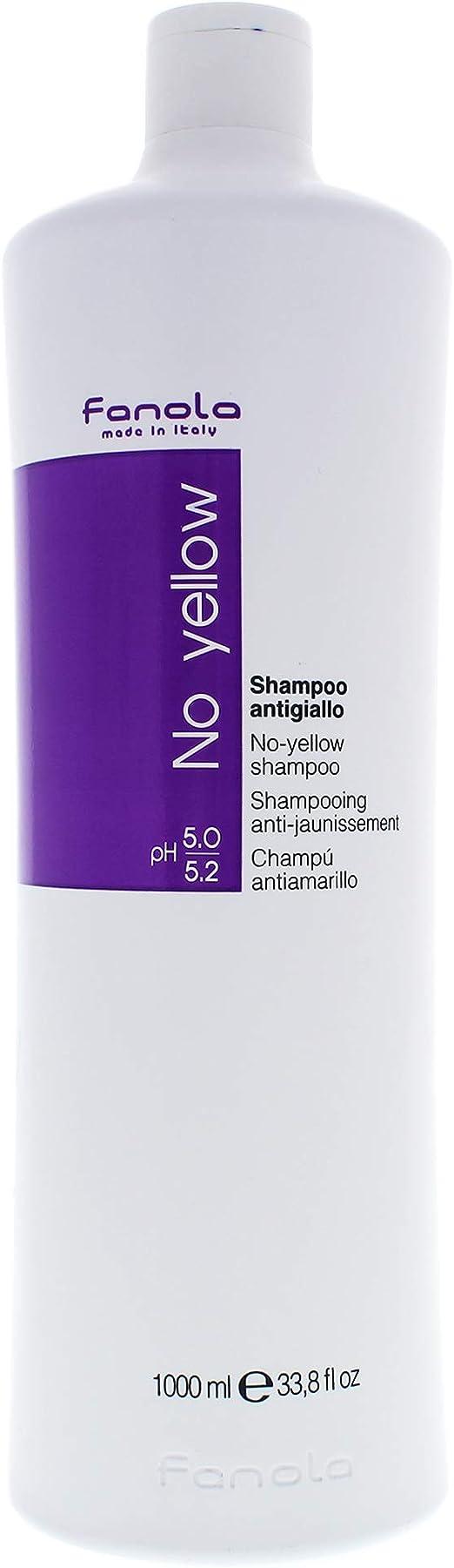 Fanola, Champú No Yellow, 1000 ml.