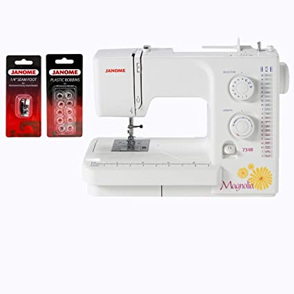 Amazon Janome Magnolia 40 Sewing Machine With Package Arts Inspiration Janome Magnolia 7318 Sewing Machine