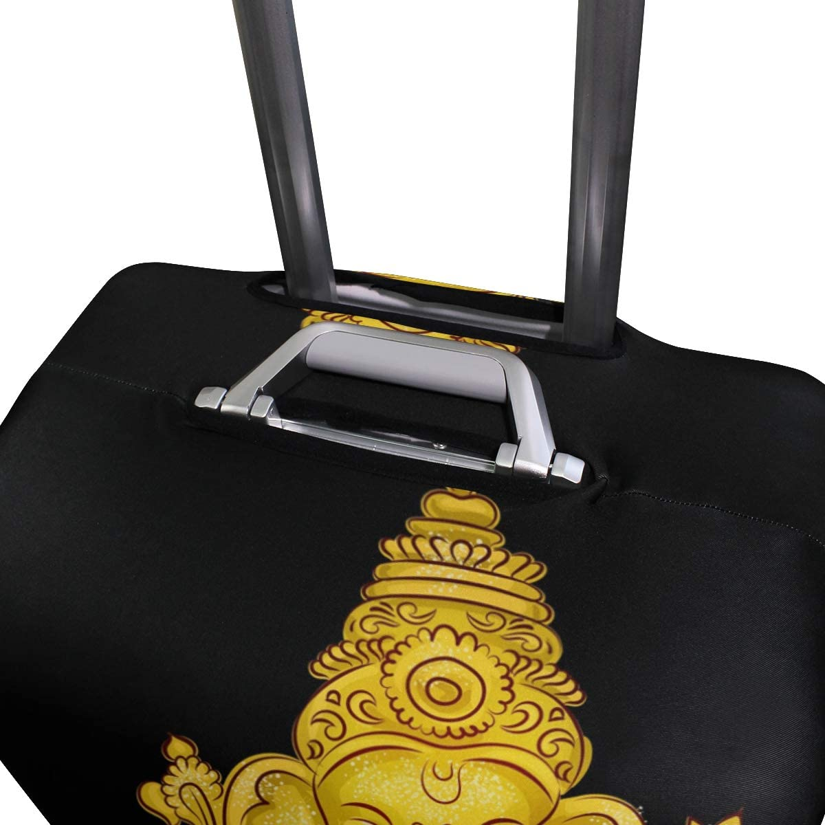 GIOVANIOR Thai Cartoon Elephant Luggage Cover Suitcase Protector Carry On Covers