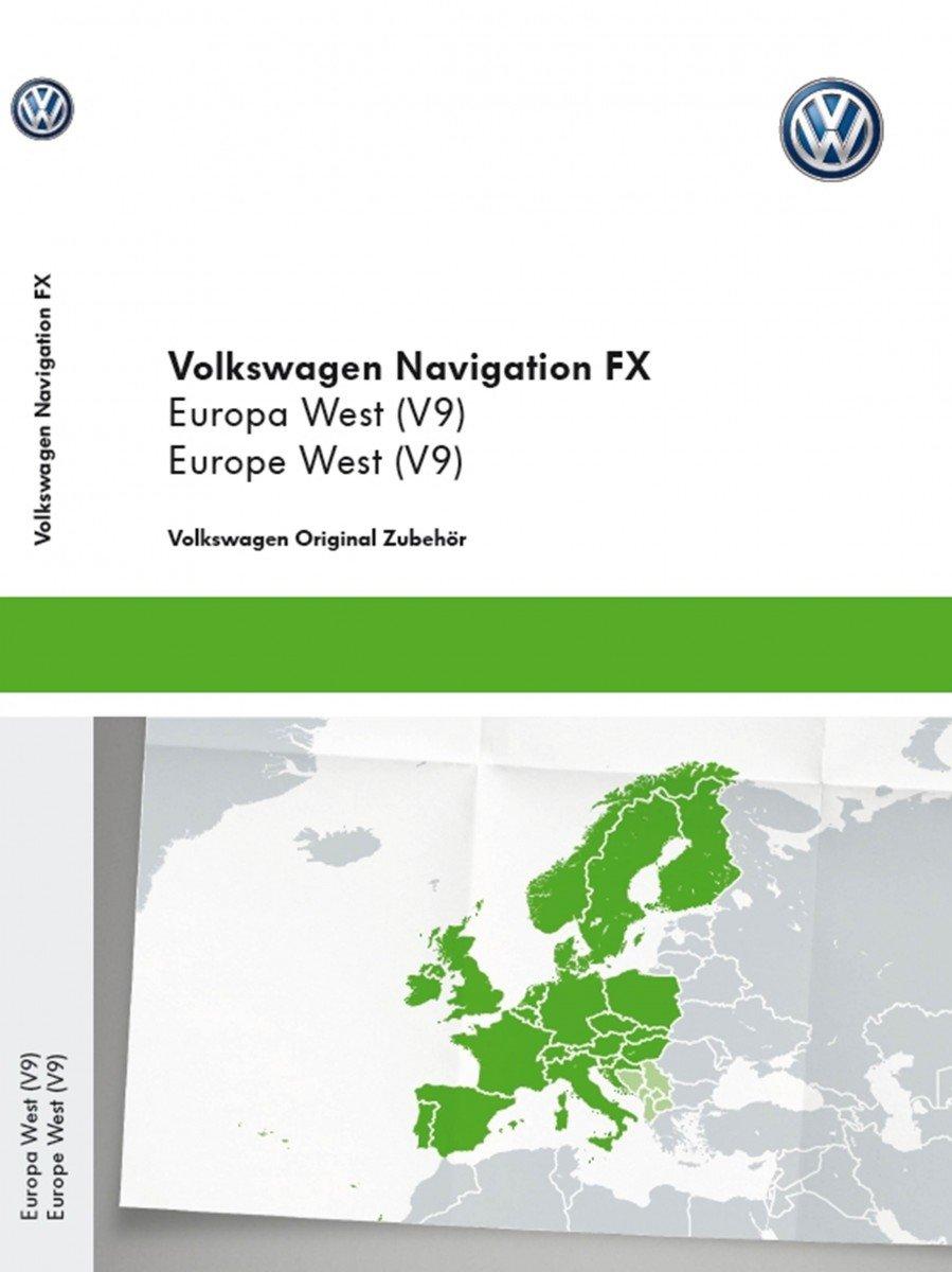 Volkswagen Original SD Card, Navigation V9 European RNS 310