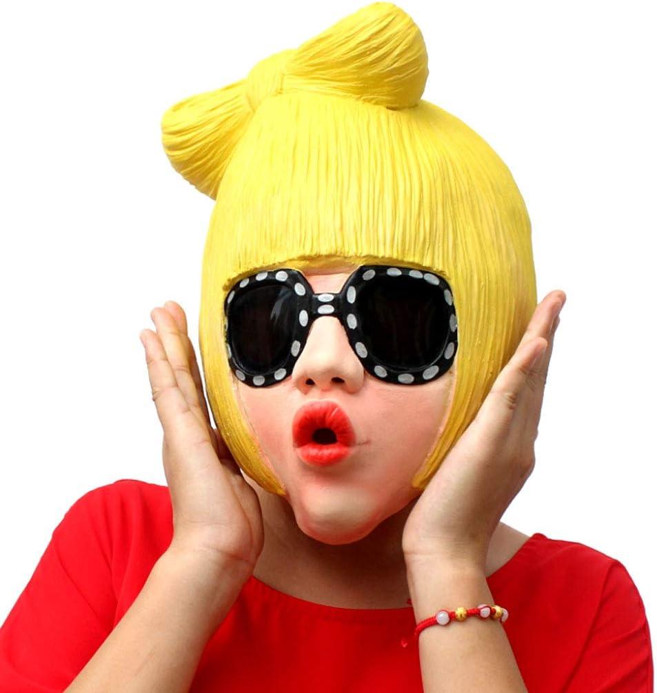 TINGSHOP Máscara De La Celebridad, Lady Gaga Divertida Fiesta De ...