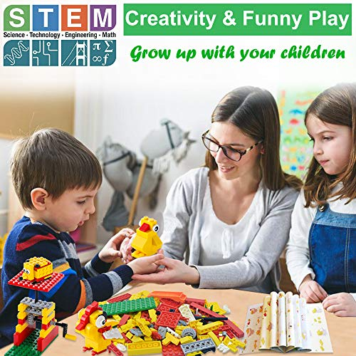 66e8cbf11cd6 Building Blocks 244pcs Set to Create Funny Turntable   26 Different Animals  - Building Toys Gift