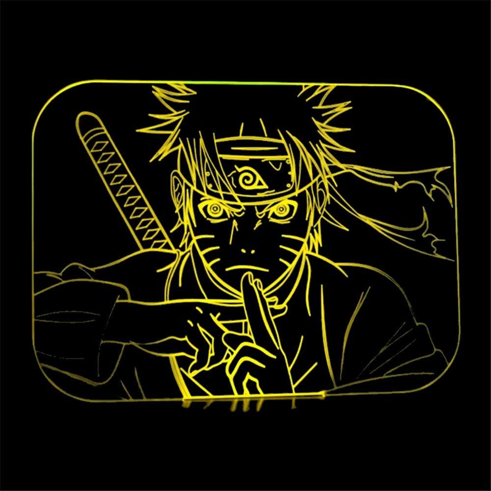Naruto Lnight Anime Colorido LightUzumaki 3d Nvn0Ow8m