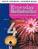 img - for Everyday Mathematics: Grade 4, Math Journal Answer Book, Vol. 1 book / textbook / text book