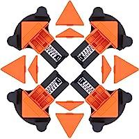 4 STKS Hoekklemmen Set, 60/90/120 Graden Verstelbare Swing Hoekklemmen Clip Houden Hoeken voor Lassen Hout-Werken Maken…