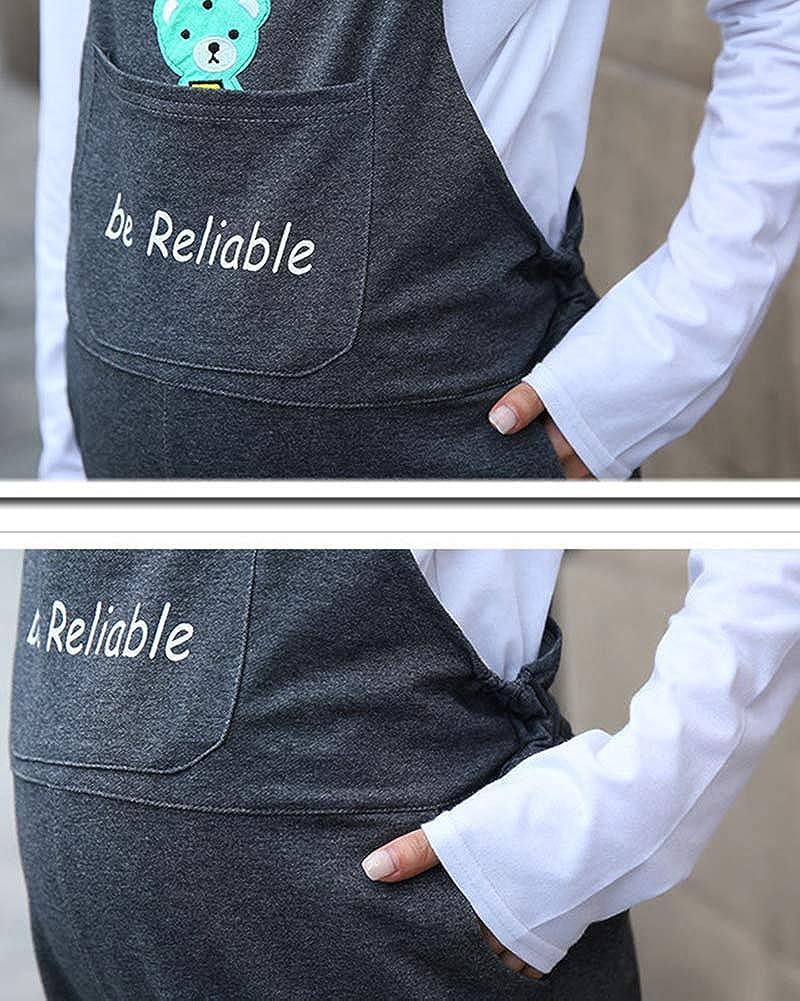 Peto Premam/á Pantalones para Embarazadas para Mujer Shaoyao Mono Embarazada Overall