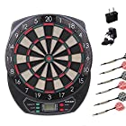 WINMAX Electronic Soft Tip Dartboard Set LCD Display with 6 Free Darts, 40