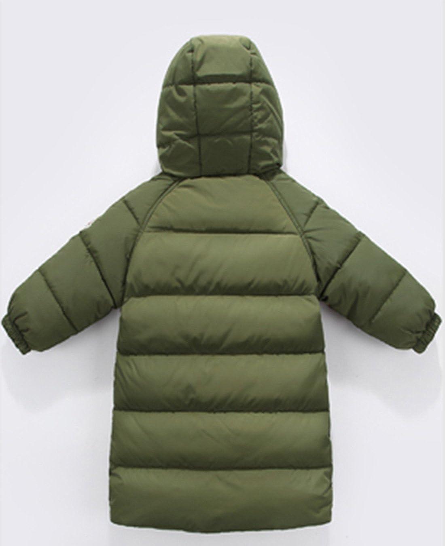 ecae279f0f48 Amazon.com  Happy Cherry Baby Girls Long Down Coats Lightweight ...