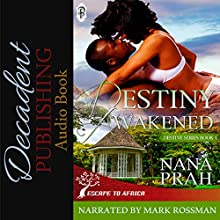 Destiny Awakened: Destiny African Romance, Book 4 Audiobook by Nana Prah Narrated by Mark Rossman